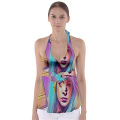 DRAG ON GO Babydoll Tankini Top