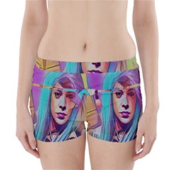 DRAG ON GO Boyleg Bikini Wrap Bottoms