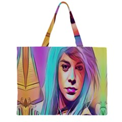 DRAG ON GO Large Tote Bag