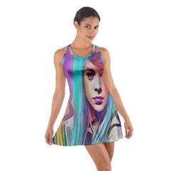 DRAG ON GO Cotton Racerback Dress