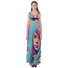 DRAG ON GO Empire Waist Maxi Dress
