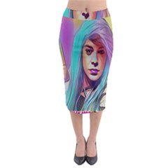 DRAG ON GO Midi Pencil Skirt