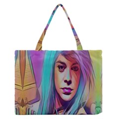 DRAG ON GO Medium Zipper Tote Bag
