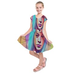 DRAG ON GO Kids  Short Sleeve Dress