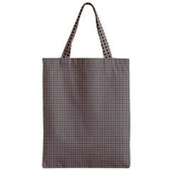 Brown Eyes Zipper Classic Tote Bag
