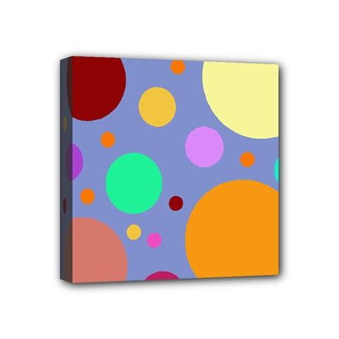 Dotty Mini Canvas 4  X 4
