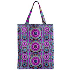 Magic Flowers From  The Paradise Of Lotus Zipper Classic Tote Bag
