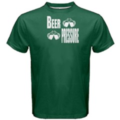 Green beer pressure Men s Cotton Tee