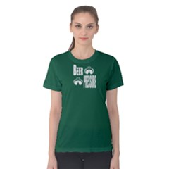 Green Beer Pressure Women s Cotton Tee