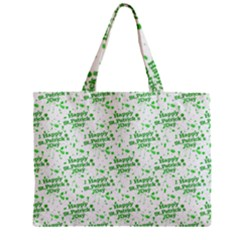 Saint Patrick Motif Pattern Mini Tote Bag