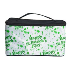 Saint Patrick Motif Pattern Cosmetic Storage Case