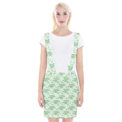 Saint Patrick Motif Pattern Suspender Skirt