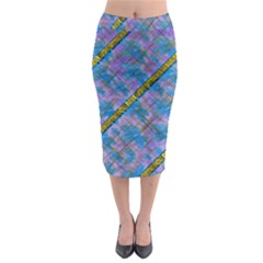 A  Golden Starry Gift I Have Midi Pencil Skirt