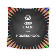 Keepcalmhomeschool Square Tapestry (small)
