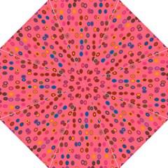 Circles Abstract Circle Colors Hook Handle Umbrellas (Large)