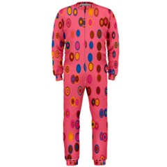 Circles Abstract Circle Colors Onepiece Jumpsuit (men)