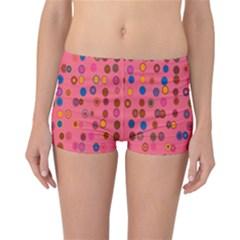 Circles Abstract Circle Colors Reversible Bikini Bottoms