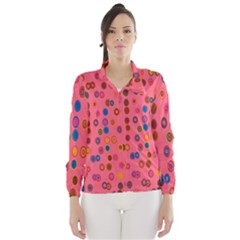 Circles Abstract Circle Colors Wind Breaker (women)