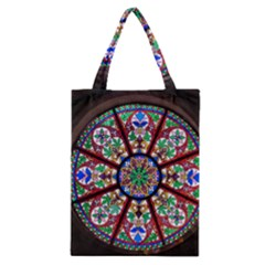 Church Window Window Rosette Classic Tote Bag