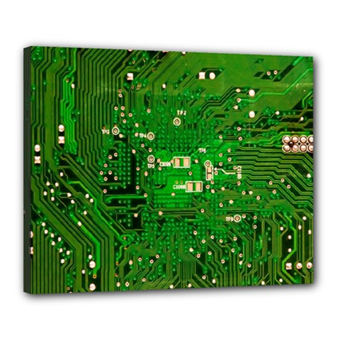 Circuit Board Canvas 20  x 16