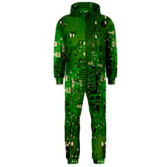 Circuit Board Hooded Jumpsuit (Men)