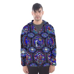 Church Window Canterbury Hooded Wind Breaker (men)