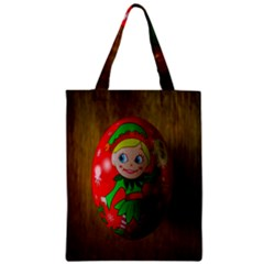 Christmas Wreath Ball Decoration Zipper Classic Tote Bag
