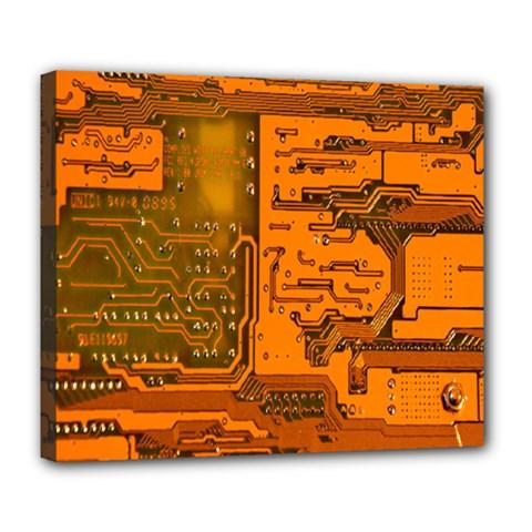 Circuit Deluxe Canvas 24  x 20