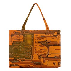 Circuit Medium Tote Bag