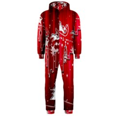 City Nicholas Reindeer View Hooded Jumpsuit (Men)