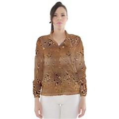 Circuit Board Pattern Wind Breaker (women)