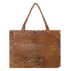 Circuit Board Pattern Medium Tote Bag