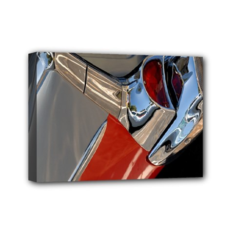 Classic Car Design Vintage Restored Mini Canvas 7  x 5