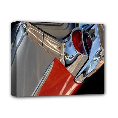 Classic Car Design Vintage Restored Deluxe Canvas 14  x 11