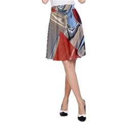 Classic Car Design Vintage Restored A-Line Skirt