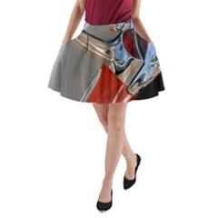 Classic Car Design Vintage Restored A Line Pocket Skirt