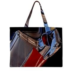 Classic Car Design Vintage Restored Medium Tote Bag