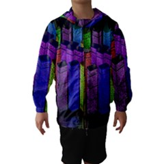 City Metropolis Sea Of Light Hooded Wind Breaker (kids)