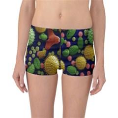 Colorized Pollen Macro View Reversible Bikini Bottoms