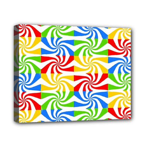 Colorful Abstract Creative Canvas 10  X 8