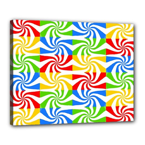 Colorful Abstract Creative Canvas 20  X 16