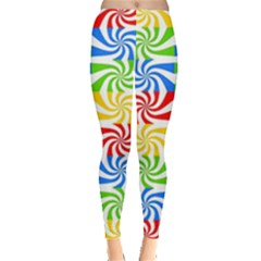 Colorful Abstract Creative Leggings