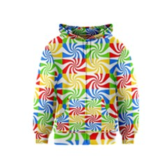 Colorful Abstract Creative Kids  Zipper Hoodie