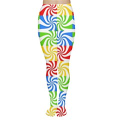 Colorful Abstract Creative Women s Tights