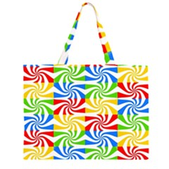 Colorful Abstract Creative Large Tote Bag
