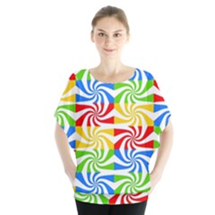 Colorful Abstract Creative Blouse