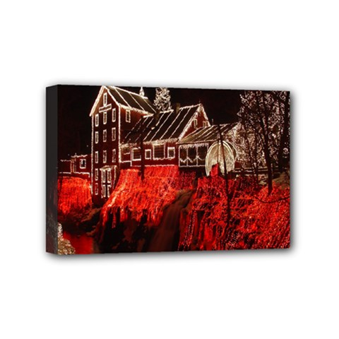 Clifton Mill Christmas Lights Mini Canvas 6  x 4