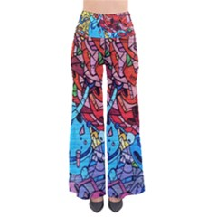 Colorful Graffiti Art Pants