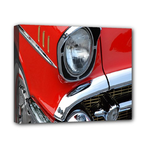 Classic Car Red Automobiles Canvas 10  X 8