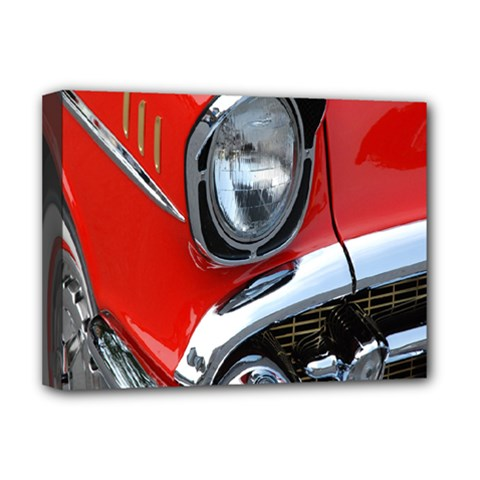 Classic Car Red Automobiles Deluxe Canvas 16  X 12